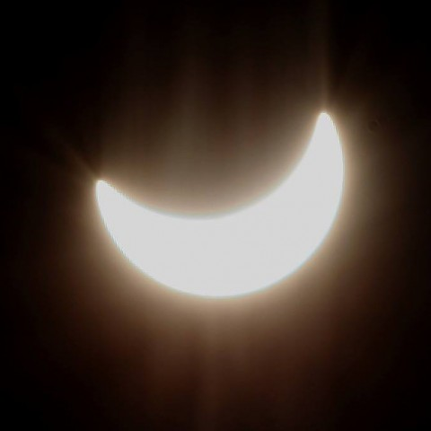 Sonnenfinsternis in Freiburg