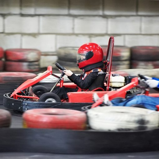 Indoor-Karting in Umkirch