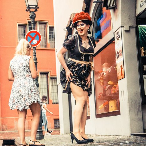 Citytour mit Drag-Queen Betty BBQ