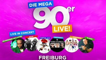 Mega 90er Open Air Freiburg