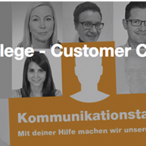 Kundenpflege – Customer Care Talent (m/w) gesucht